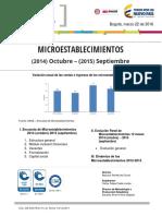 Bol Micro 2015 Estadist Microempresas