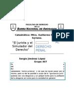 Ensayo sobre libro El Realista y el Simulador del Derecho Ignacio Burgoa