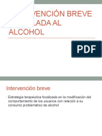 Intervención Breve Vinculada Al Alcohol