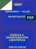 Ciencia Proyecto Investigación