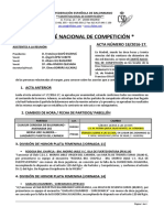 Resolución del Comité de competición - Federación Española de Balonmano