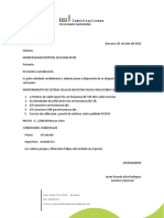 cotización HUANCAPÓN