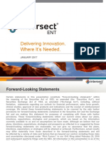 Intersect ENT (XENT) Company Presentation
