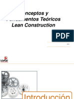 Fundamentos Teoricos de Lean Construction