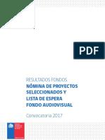 Resultados Audiovisual 2017