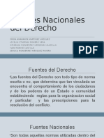 Fuentes Nacionales Del Derecho Mexicano