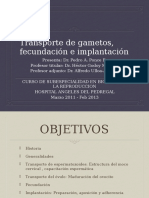 Transporte de Gametos Fecundaci n e Implantaci n Dr Pedro Ponce b Biolog a de La Reproducci n (1)