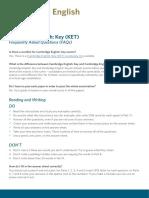 KET (FAQ)