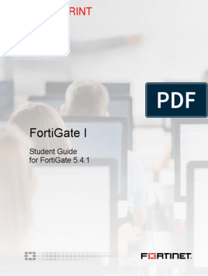 FortiGate I Student Guide-Online V2 | Command Line Interface