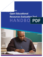 Achieve OER Evaluation Tool Handbook