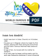 World Famous Bosnians