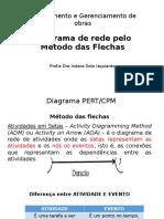 3-Diagrama de Rede Pelo Métodos Das Flechas