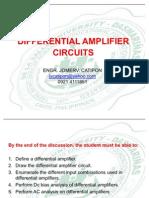 ELEX3 Differential Amplifiers