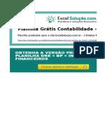 Planilha Dre Contabilidade Excel v1