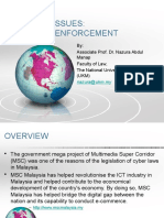 Cyber Issues in Malaysia. Laws and Enforcement (1)