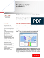 Oracle Incentive Compensation Data Sheet