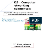 The Open Systems Interconnection (OSI) Model And Network Protocols