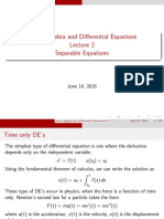 LADE2 Separable Equations