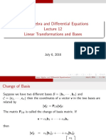 LADE12 General Linear Transformations