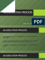7 - Adjudication Process