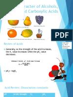 Acidic Basic Character