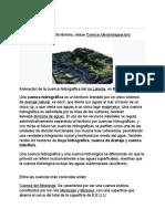Hidrología y Cuencas