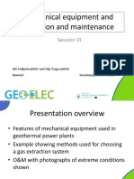 Session VI EHa and LTr Mechanical Equipment and Operation and Maintenance
