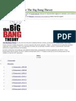 The Big Bang Theroy Capitulos