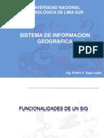 Funcionalidades de Un SIG