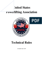 US Powerlifting Association - Technical Rules