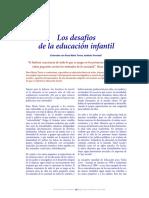 Los Desafios de La Educacion Infantil -MRTorres
