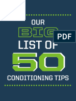 Stack Big List of Conditioning Tips