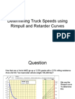 Determining Truck Speeds Using Rimpull and Retarder Curves