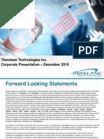 TLTCorporatePresentation-December2016
