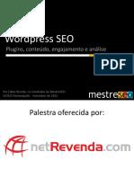 Wordpress - Plugins,Conteudo e Engajamento