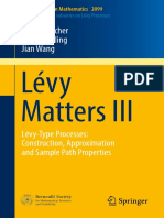 Björn Böttcher, René Schilling, Jian Wang Auth. Lévy Matters III Lévy-Type Processes Construction, Approximation and Sample Path Properties