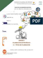 2.1. Tipos de Planeacion Ramiro Ramirez Cadena 9no u Ing Industrial