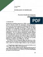Rodríguez Consuegra, Francisco - El Logicismo Russelliano, Su Significado Filosófico