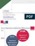 Ovum LTE450 Presentation