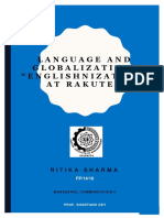 Englishnization at Rakuten