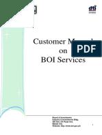 Bo i Customer Manual