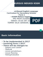 Laporan Kursus Kssm English