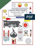 Erector Parts Guide