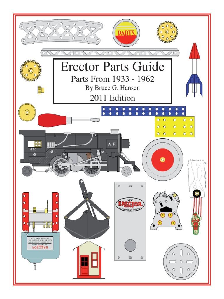 "A.C Gilbert Erector Set /""DB/"" Motor Pulley"