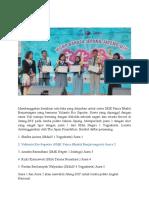 Sarastiana_SMK Panca Bhakti_SMK PB Juara Lomba Pidato Bahasa Jepang Tingkat Jateng-DIY