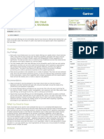 Gartner Critical Capabilities for Public Cloud IaaS 2015