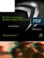 3DVision Develop Design Play in 3D Stereo (by Nvidia)