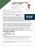 Curriculum Vitae a. Zamora 2018