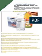 Aceto Di Mele e Bicarbonato