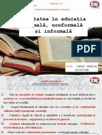 SLIDE CALITATEA EDUCATIEI